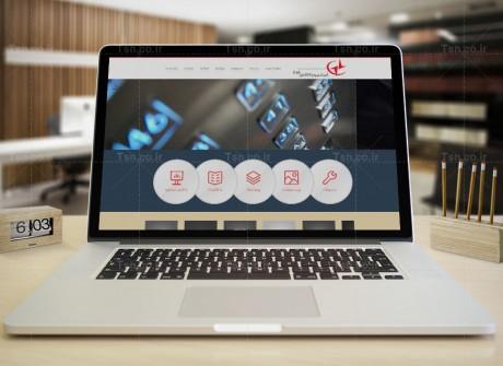 طراحی سایت شرکت اطلس فراز