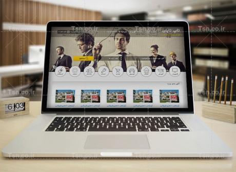 طراحی وب سایت تاپ تاپان