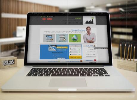 طراحی وب سایت  دومین هاست