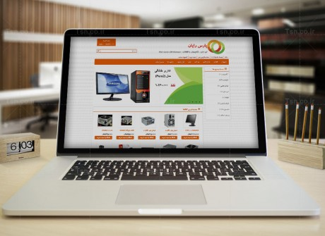 طراحی فروشگاه اینترنتی پارس رایان