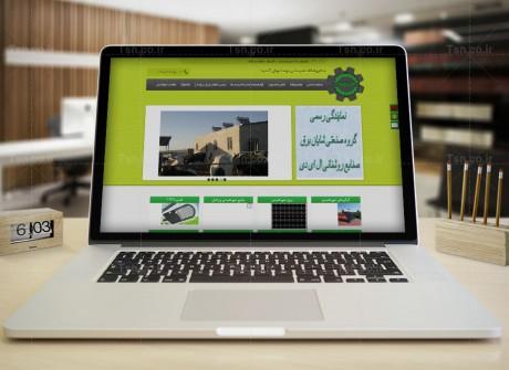 طراحی وب سایت فروشگاه تاسیسات توصا