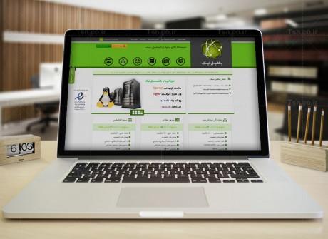 طراحی وب سایت  یاشیل نیک