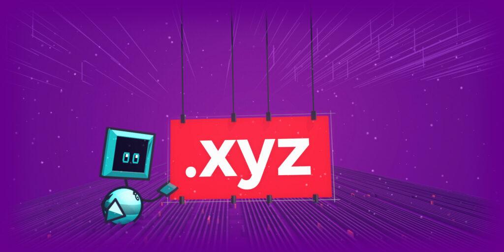 ثبت دامنه XYZ