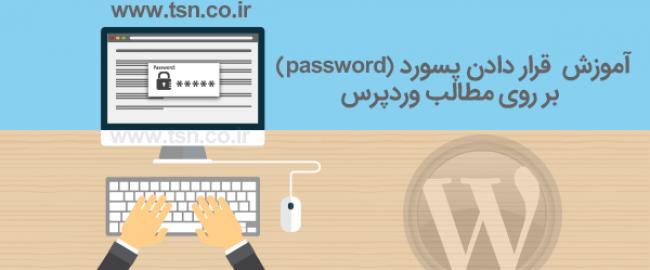 آموزش قرار دادن پسورد (password) بر روی مطالب وردپرس
