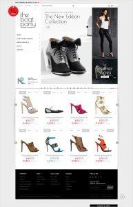 طراحی سایت لباس و کیف و کفش