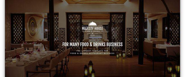طراحی سایت کافی شاپ, رستوران, فست فود