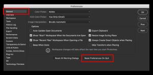 ثابت کردن نوار ابزار option فتوشاپ