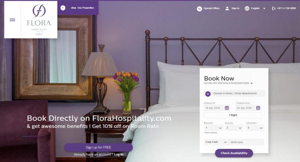 طراحی سایت هتل در کرمان