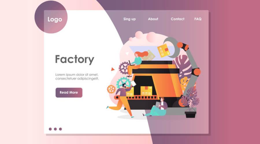 طراحی سایت کارخانه در کرمان