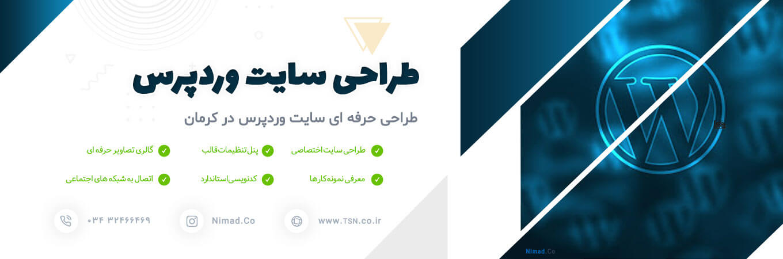 طراحی وب سایت وردپرس در کرمان