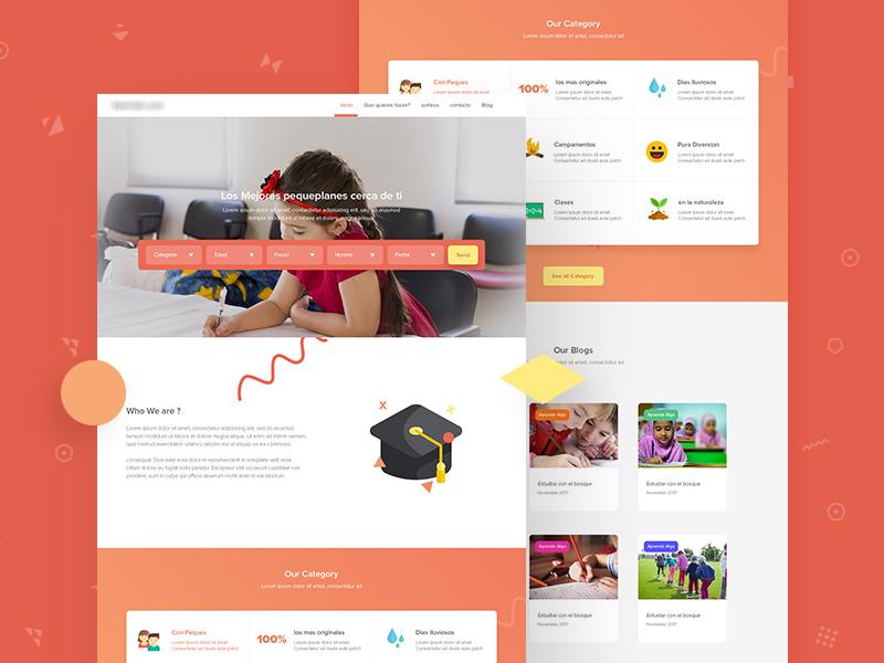 طراحی سایت مدرسه در کرمان