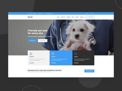 طراحی سایت دامپزشکی نیماد